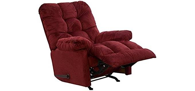 Catnapper Heated Massage Rocker Chair - Comfortable Soft Massage Recliner Rocker