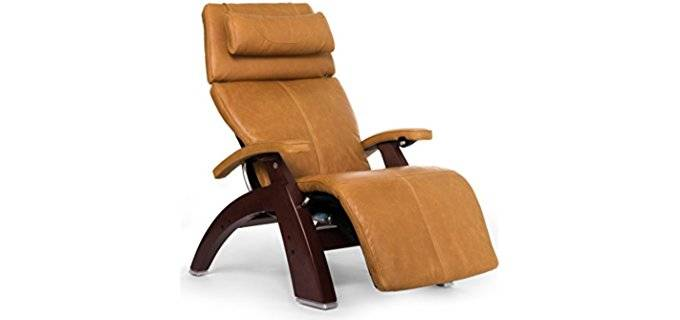 Human Touch Hand-Carved Zero Gravity - 'The Perfect' Adjustable Zero Gravity Full Recliner Chair