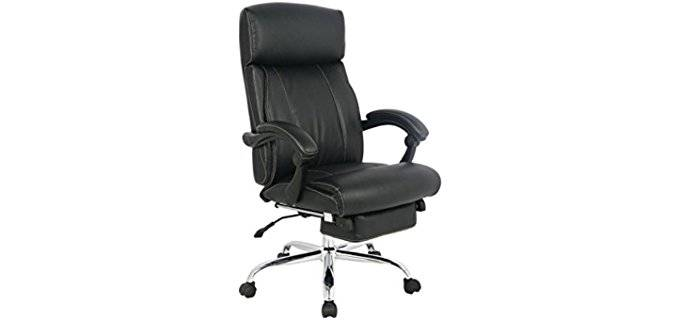 viva office office nap time recliner bonded leather office chair for sleeping