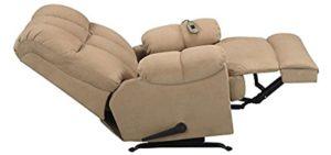 Dorel Living Massage - Massaging Cuddler Recliner