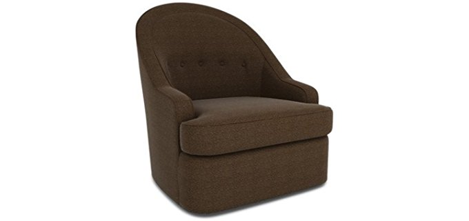 Dwell Studio Minimalist Glider Chair - Designer Quality Glider Arm Chair