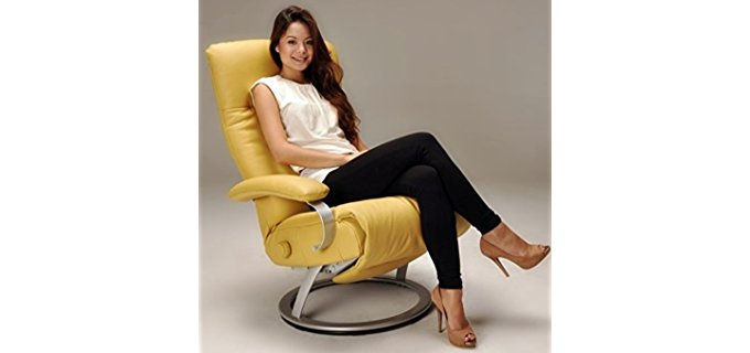 Lafer Recliner Chairs Kiri Sleeper Recliner - Plush Modern Recliner Chair for Sleeping