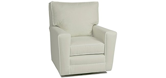 Little Castle Square Glider Chair - Comfortable Glider Chair with 360 Swivel