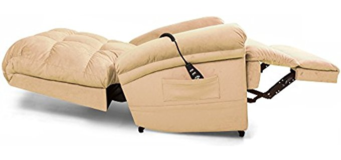 Sleep Recliner 28 Images Faux Suede Recliner Sofa