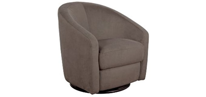Babyletto Madison Swivel Glider - Sophisticated Space Saving Glider Chair