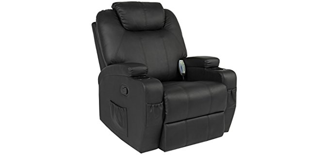 Best Choice Products Recliner Sofa Chair - Heated Massage Recliner Chair