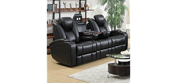Coaster Home Furnishings Power Reclining Sofa - Ultimate Power Reclining Loveseat Sofa
