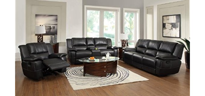 Coaster Home Furnishings Smooth Recline Sofa - Smooth Transition Recliner Couch
