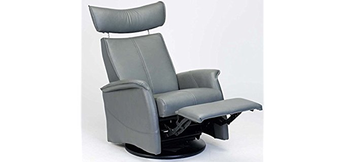 Fjords Zero Gravity Recliner - Norwegian Anti Gravity Leather Recliner Chair