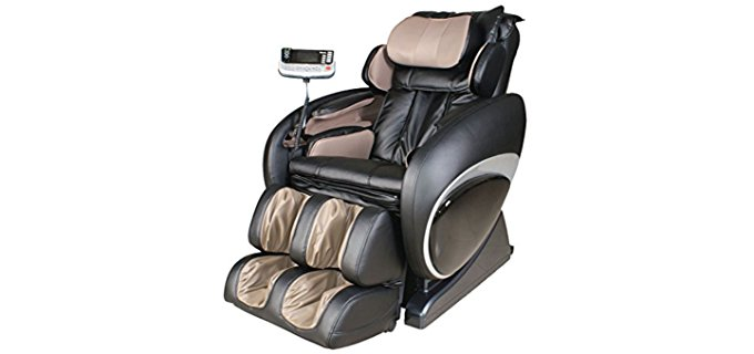 Titan Chair Electronic Massage Chair - Hi-Tech Remote Control Massage Recliner
