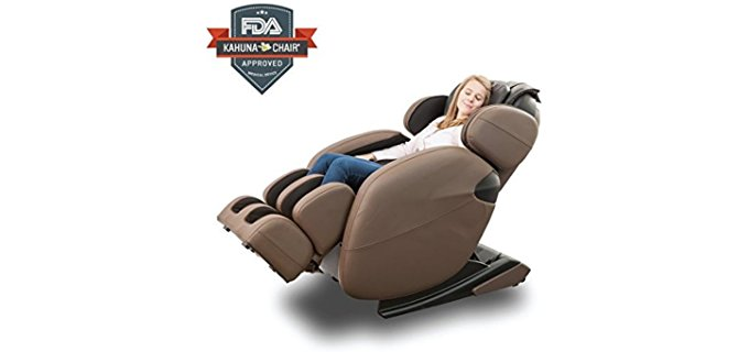 Kahuna Massage Chair Luxury Hi-Tech Recliner - Intelligent Pressure Relief Massage Recliner Chair