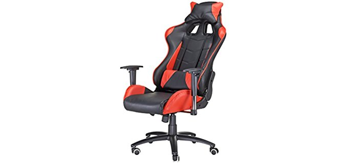 Pinty Sporty Reclining Office Chair - High Density lumbar Supportive Office Chair