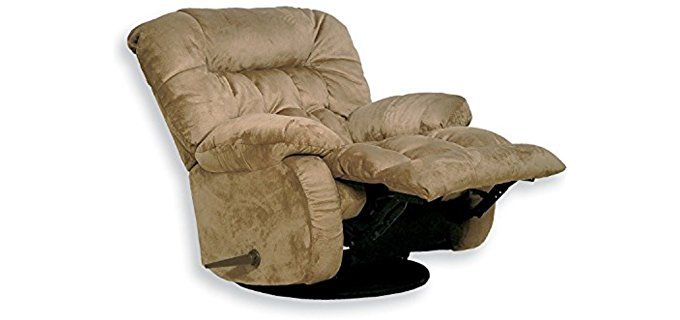 Catnapper Thick Comfort Reclining Armchair - Plush Bedroom Armchair Recliner
