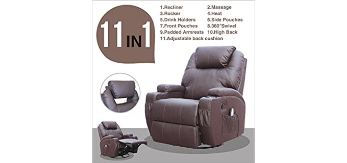 Suncoo Massage - Therapeutic Ergonomic Recliner