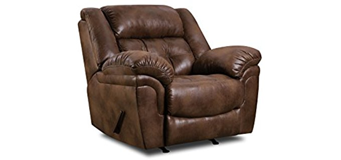 - Soft Plush Extra Large Recliner Chair