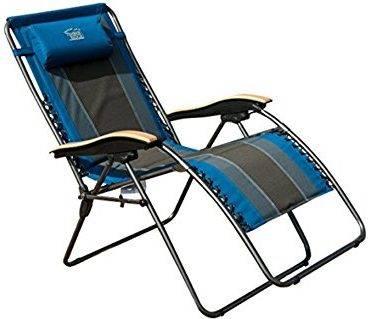 Timber Ridge Zero Gravity Outdoor Wood armrest Recliner