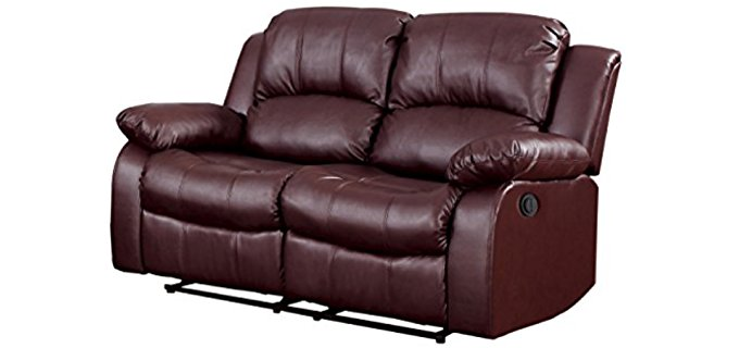 Homelegance 2 Person Power Recliner - Plush Power Recliner for Two
