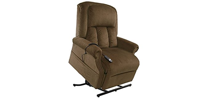 Mega Motion Superior Big Man Lift Recliner - Tall Big Man Comfort Recliner With Lift