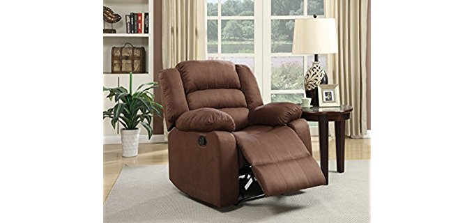 NHI Express Addison Recliner Chair - Full-Bodied Petite Recliner Chair