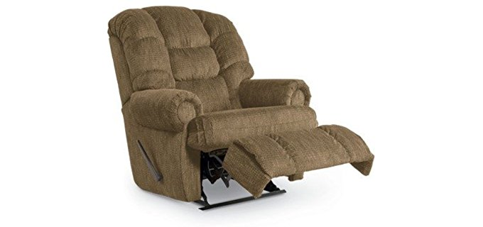 Lane Furniture Stallion Comfort King Full Recliner - Large Man Wallsaver Recliner Armchair