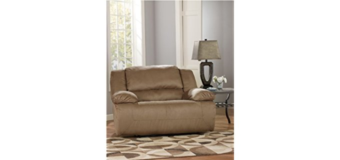 Ashley Furniture Design Cuddler Recliner - Extra Wide Cuddler Recliner
