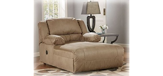 Ashley Furniture Design Long Cuddler Chair - Extra Long & Wide Cuddler Recliner