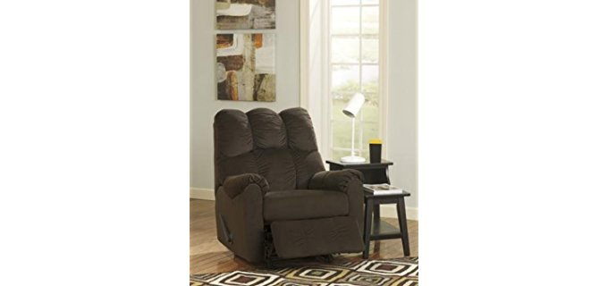 Ashleigh Furniture Manual - Durable Fabric Recliner