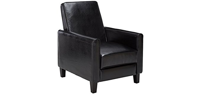 Best-Selling Leather Club Recliner Chair - Club Leather Recliner for Small People  sc 1 st  Recliner Time - Unbiased Editorial Reviews On The Best Recliners & Best Small Recliners for Short u0026 Petite People - Recliner Time islam-shia.org