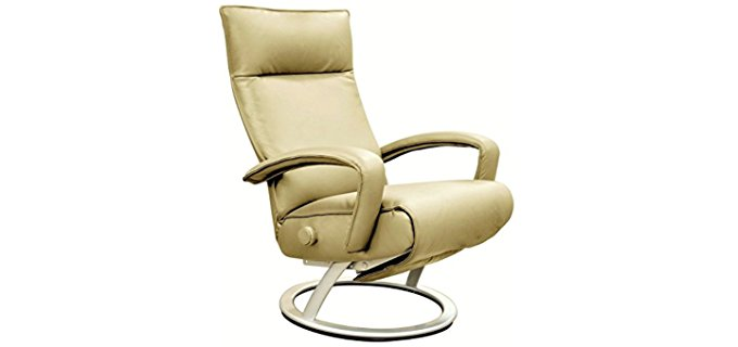 Lafer Kiri Recliner Chair - Ergonomic Modern Swivel Recliner Chair