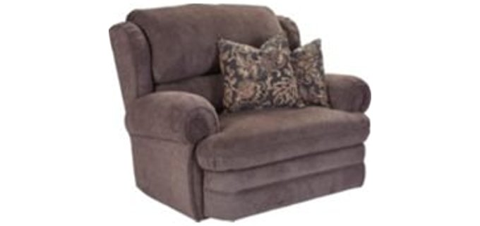 Lane Snuggler Recliner - Oversized Reclining Armchair for Snuggling
