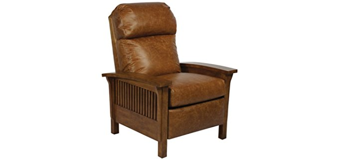 BarcaLounger Mission Style Recliner - Victorian Arts & Craft Era Recliner