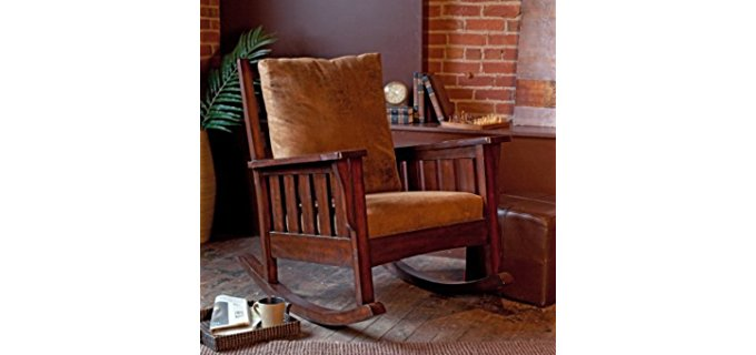 Alfred Zahn Ltd Mission Rocker - Belham Remington Mission Style Rocker Chair