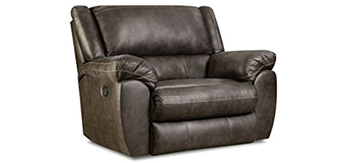 Simmons Shiloh Rocker Recliner - Chair and a Half Rocker Recliner