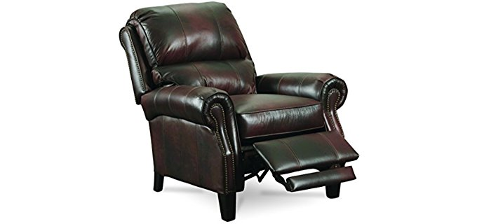 Lane Furniture Hogan Recliner Chair - Pure Quality Top Grain Push Back Recliner
