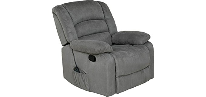 Relaxzen Massage - Plush Rocker Recliner