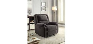 Serta Power Recliner - Fabric Power Recliner With Soft Support