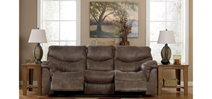 Ashley Furniture Design Power Recliner Sofa - 3 Seater Power Recliner Sofa