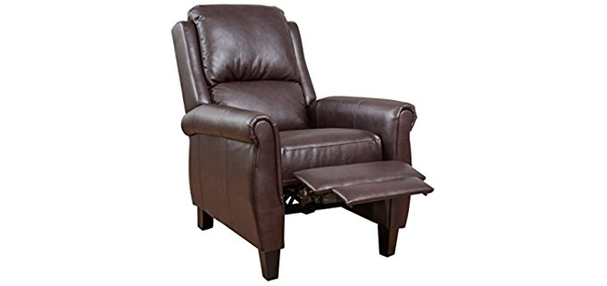 Great Deal Furnitute Leather Club Chair - Modern Leather Club Chair Recliner