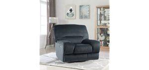 Divano Roma Furniture Gaming Recliner Sofa - Oversized Plush Gaming Recliner Armchair