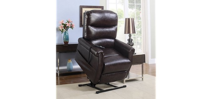 Madison Home Living Room Recliner - Smooth Power Lift Recliner Sofa
