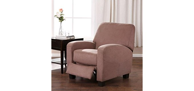 BLOSSOMZ Stylish Club Chair - Modern Curvy Club Chair Recliner