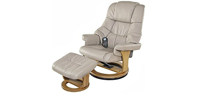 Relaxzen Motor Massage Recliner - Ultimate Gaming Comfort Massage Recliner