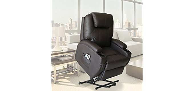 U-MAX Ultimate Lift Recliner - Ultimate Power Lift Recliner Armchair