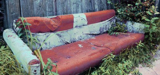 Reupholstering Recliners - Old Sofa