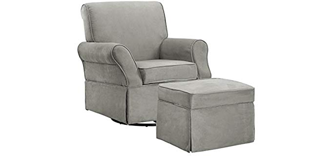 Baby Relax Kelcie - Nursery Swivel Chair with Ottoman