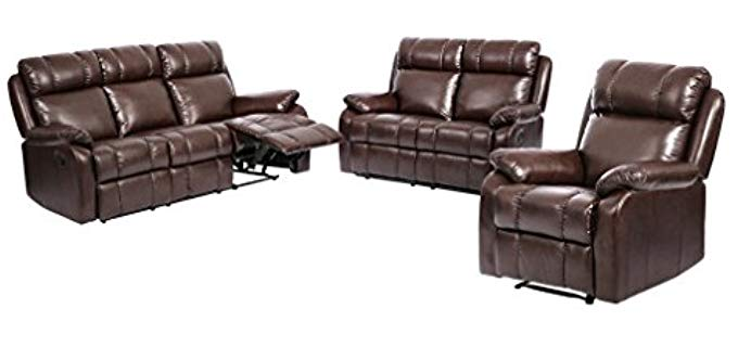 Best Massage Sectional Recliner Sofa - Reclining Sofa Set