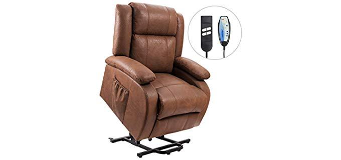 Devoko Electric - Tan Brown Massage recliner