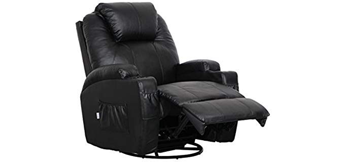 Esright Ergonomic Lounge - Power Recliner and Massager