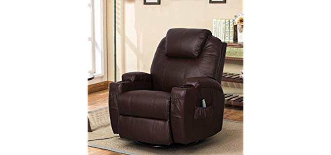 Esright Massage - Rocking Swivel Recliner