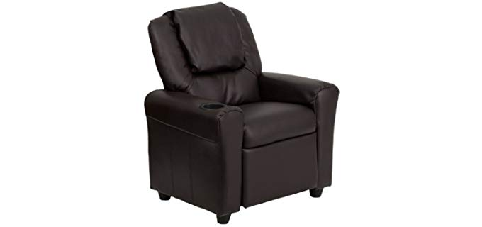 Flash Furniture Contemporary - Leather Kids Recliner